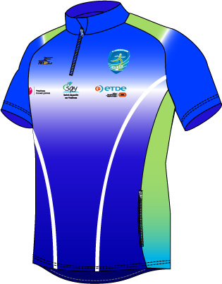 Maillot Cross Manches Courtes - A10